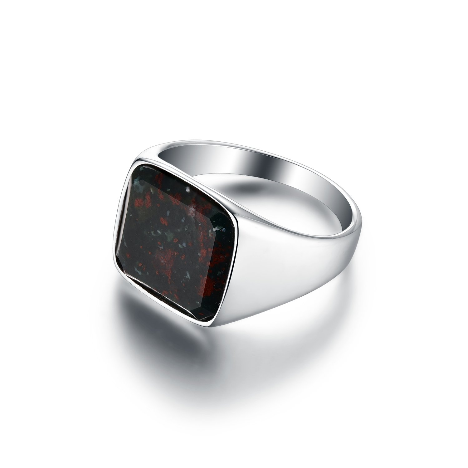 Bloodstone Signature - Silver ring - Silver rings - Northern