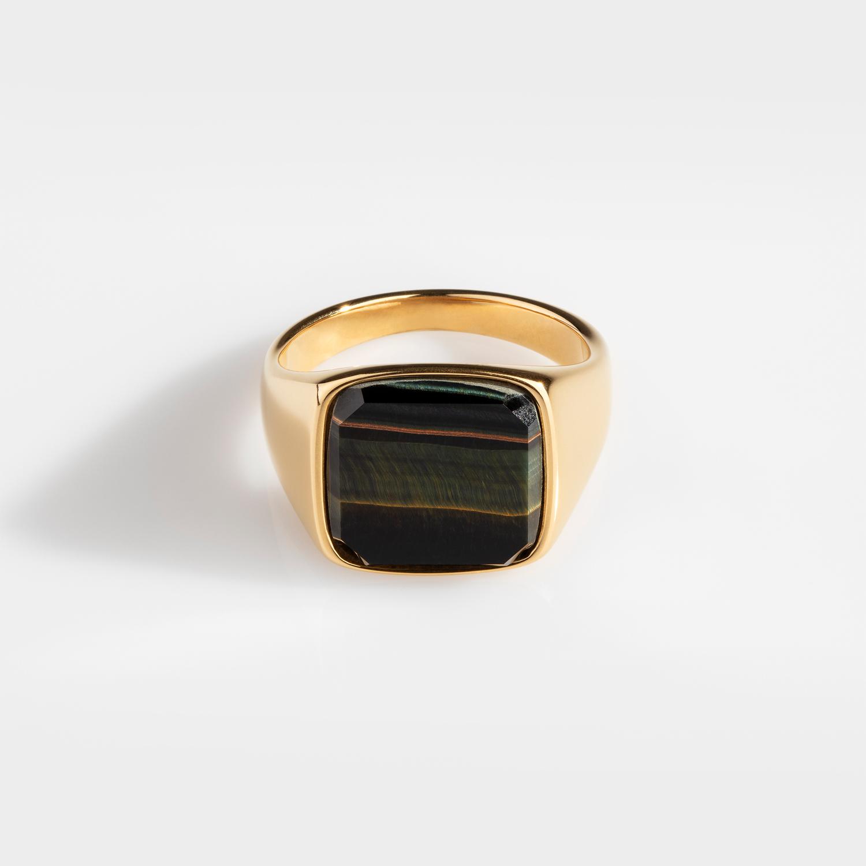 Hawk Eye Signature - Gold ring