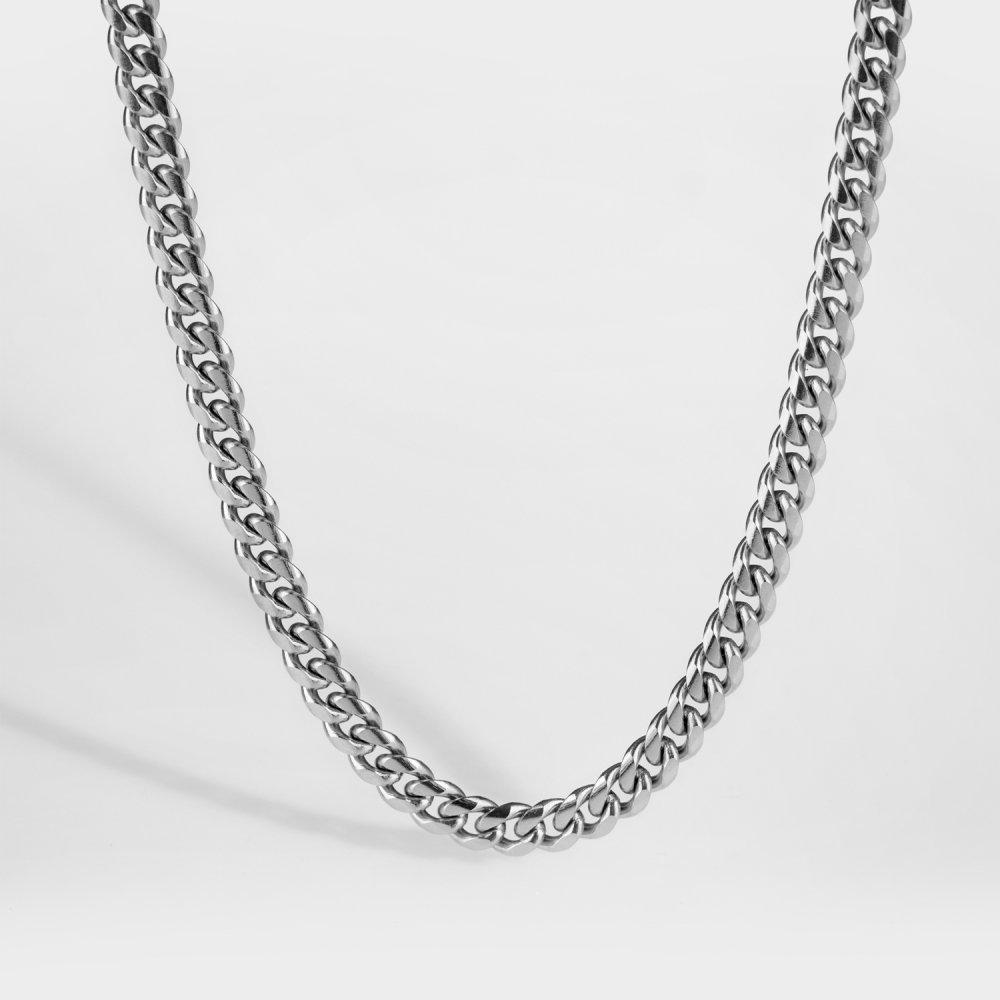 NL Sequence halskæde - Sølvtonet