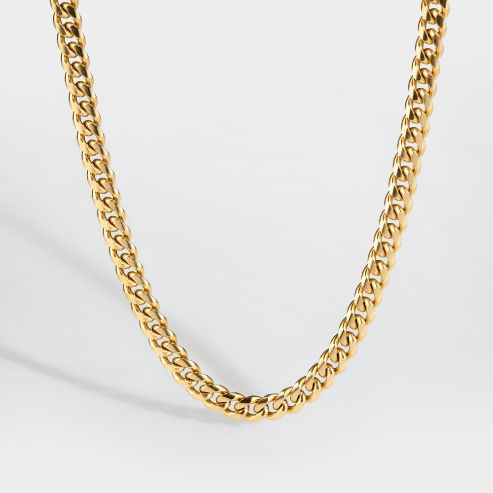 NL Sequence halskæde - Guldtonet