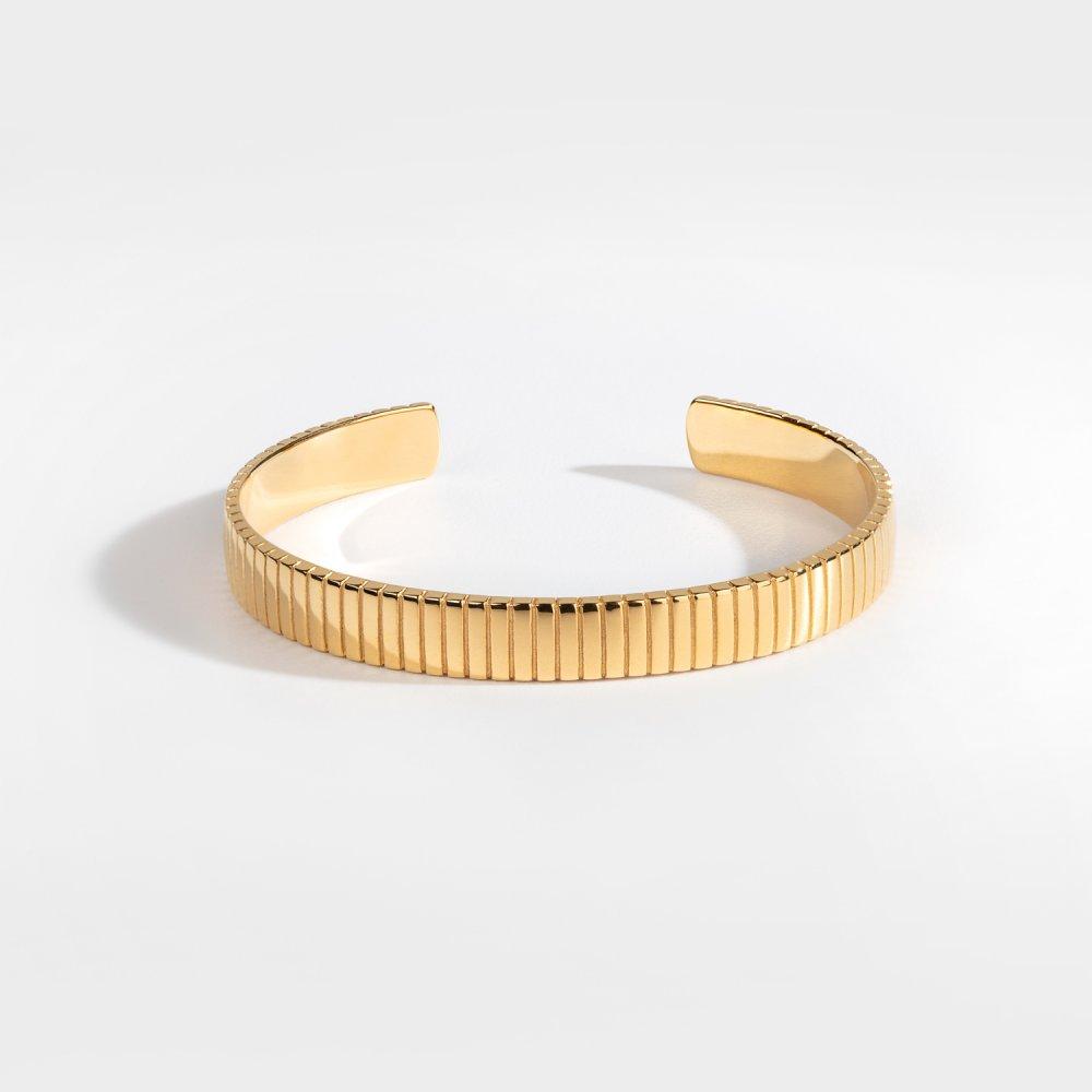NL Siempre Cut armbånd - Guldtonet