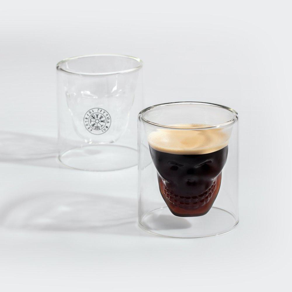 NL Skull glas - 2 pack