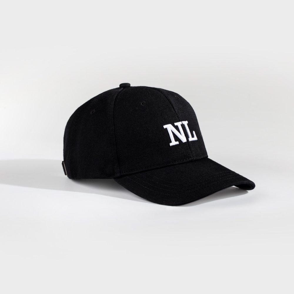 NL Dad cap - Black/white