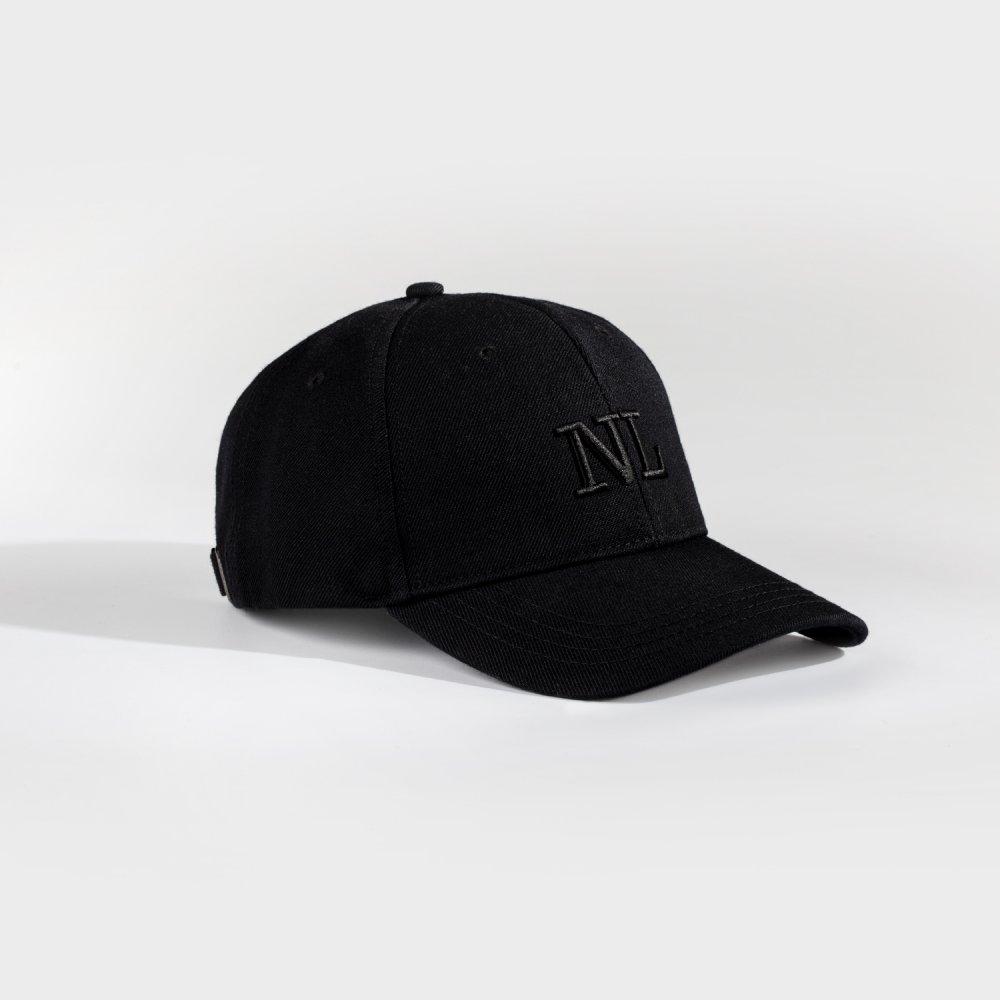 NL Dad cap - Black/black