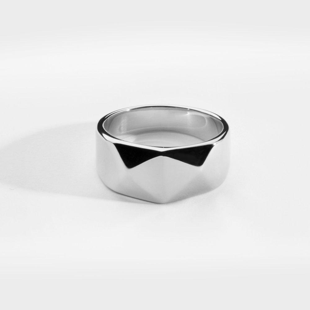 Kant Signature ring - Sølvtonet