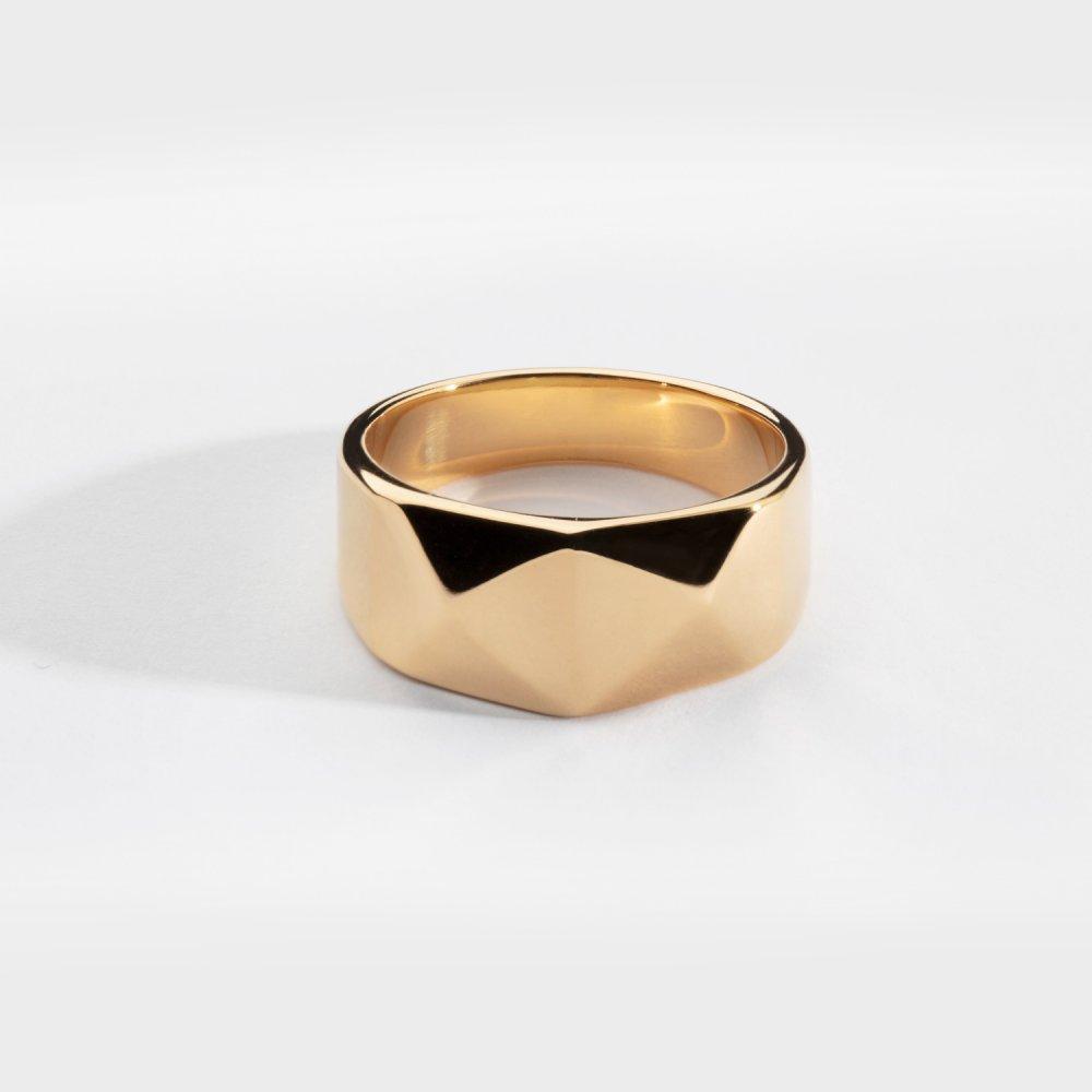 Kant Signature ring - Guldtonet