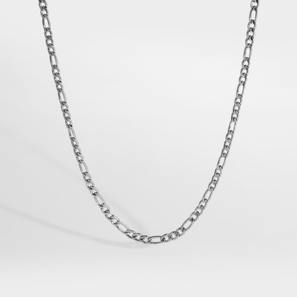 Det minimalistiske smykkesæt - Sølvtonet