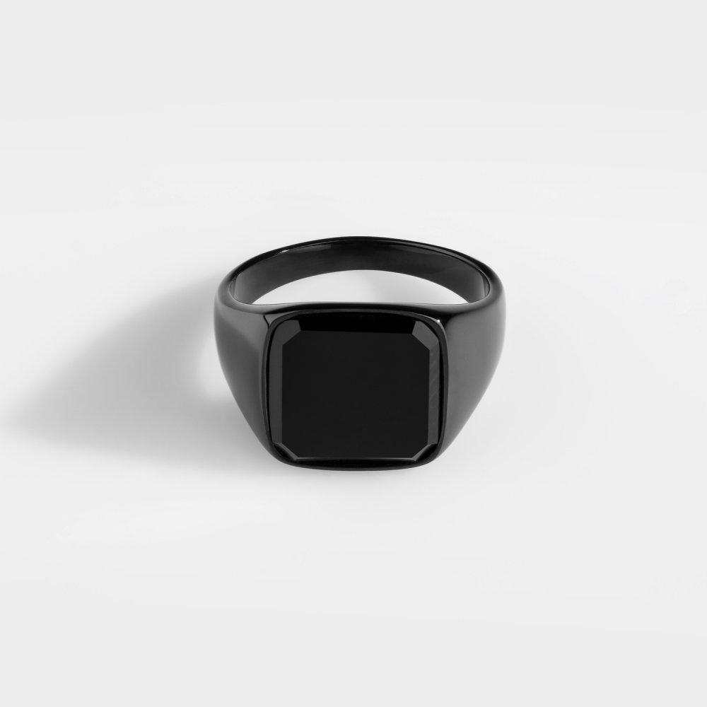 Black Onyx Signature - Black Edition ring