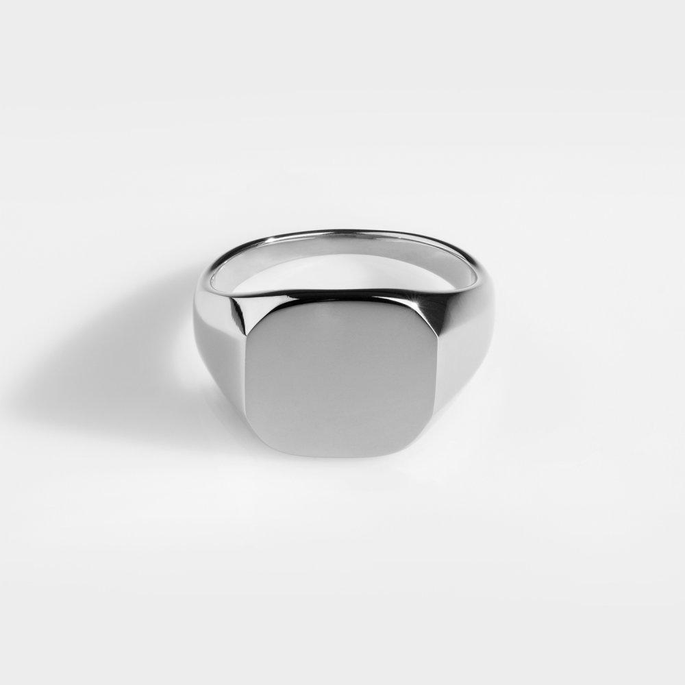 Classic Signature - Sølvtonet ring