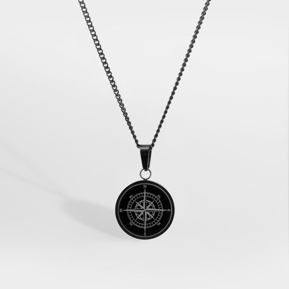 NL Compass halskæde - Gungrey