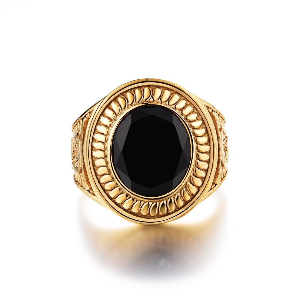 Nobles Signature - Guldtonet ring