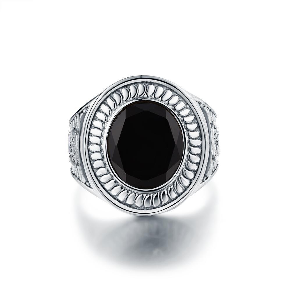Nobles Signature - Sølvtonet ring