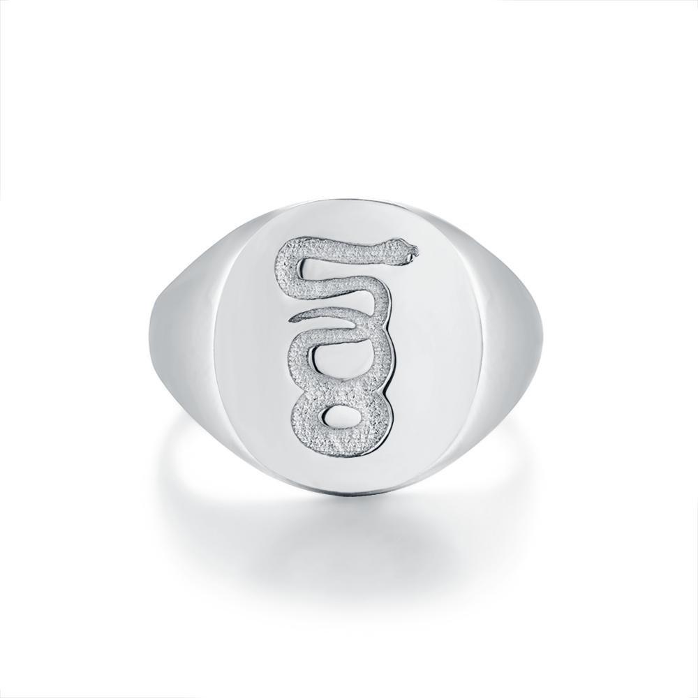 Eternity Signature - Sølvtonet ring