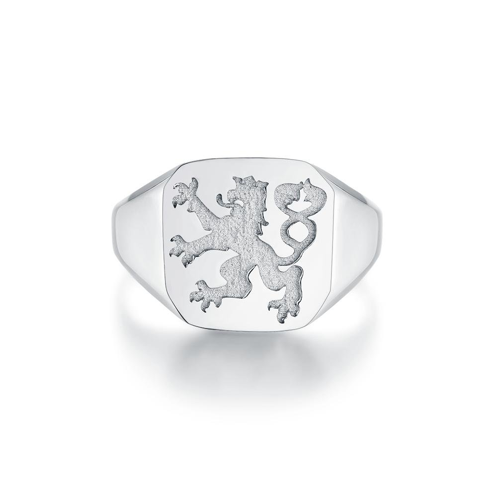 Lionheart Signature - Sølvtonet ring