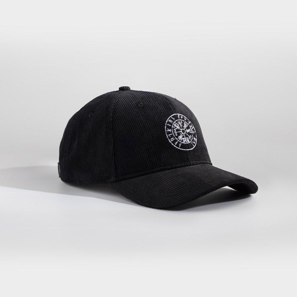 NL Vegvisir cap - Sort fløjl
