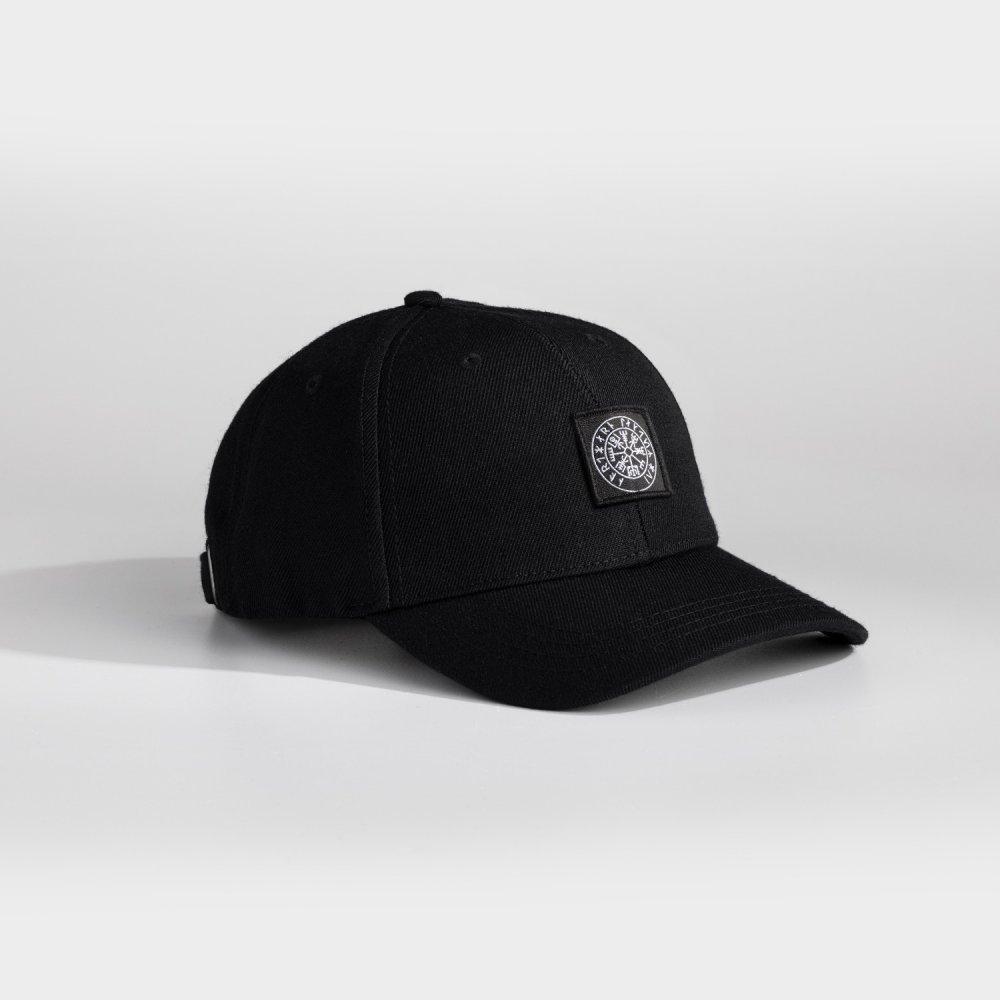 NL Vegvisir patch cap - Black