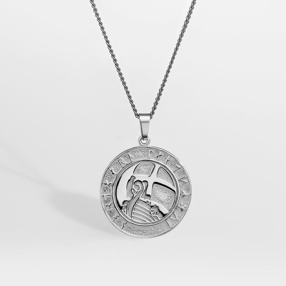 NL Explorer halskæde - Sølvtonet