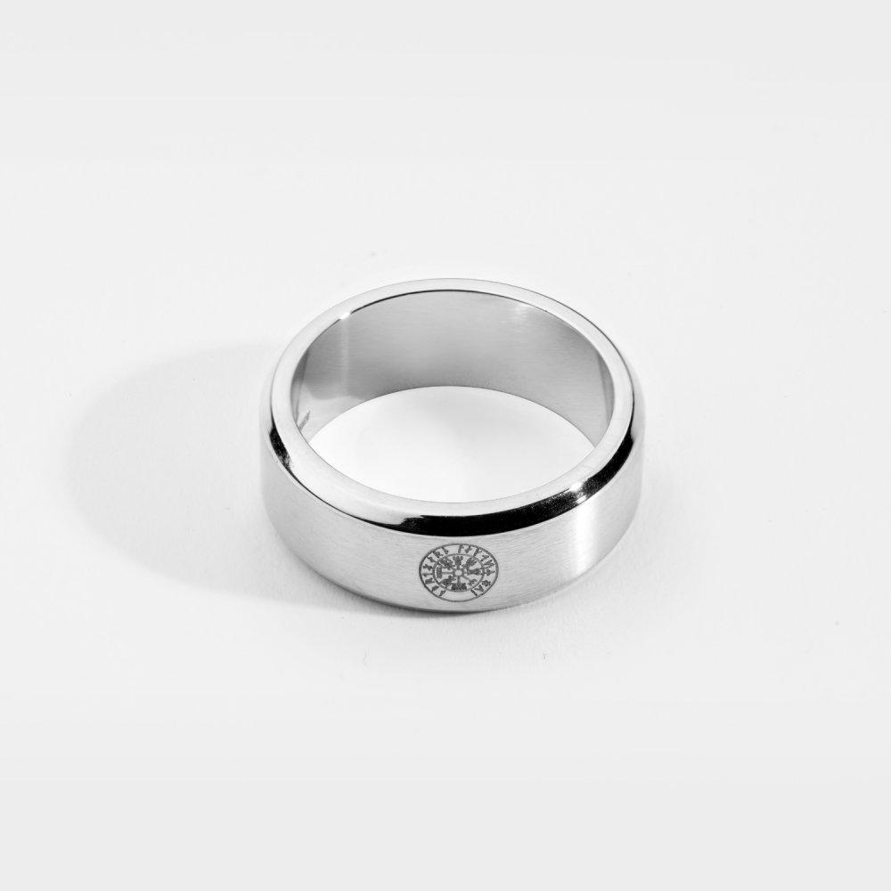 Siempre Vegvisir band - Sølvtonet ring