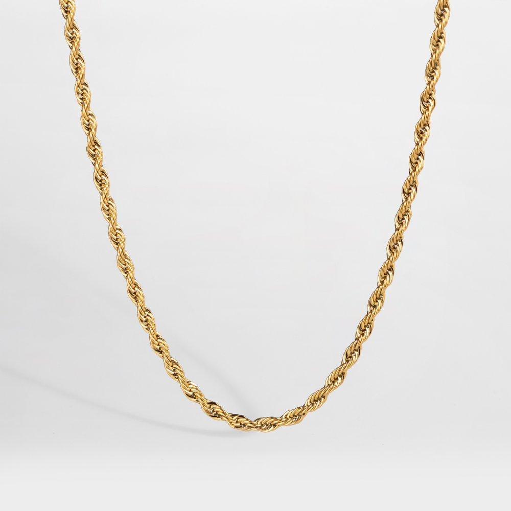 NL Rope halskæde - Guldtonet
