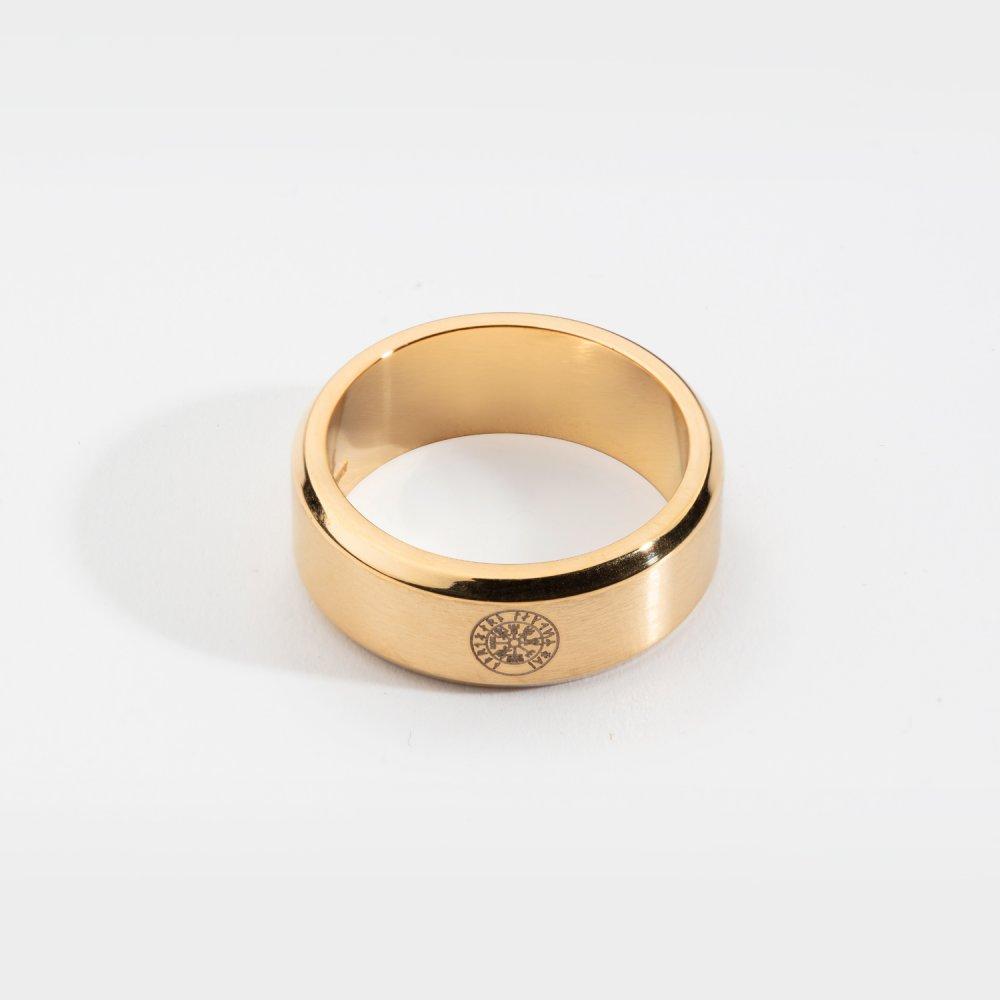 Siempre Vegvisir band - Guldtonet ring