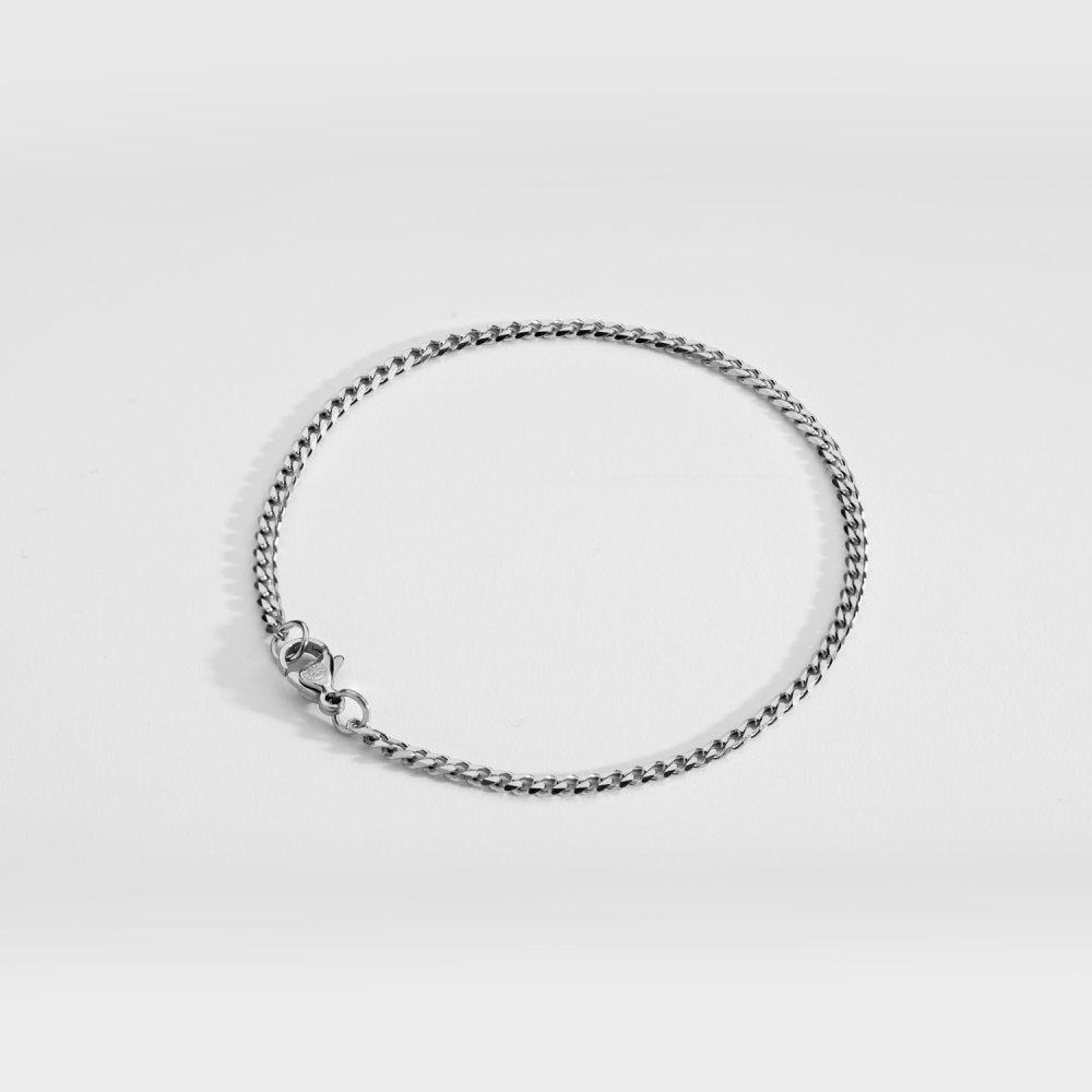 NL Minimal Sequence armbånd - Sølvtonet