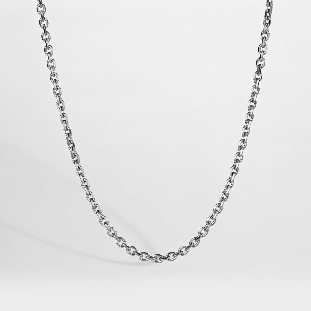 NL Cable halskæde - Sølvtonet