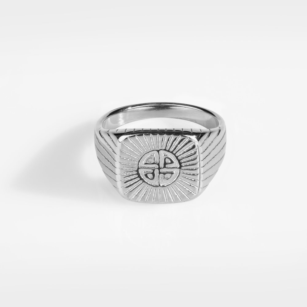 Knot Signature - Sølvtonet ring