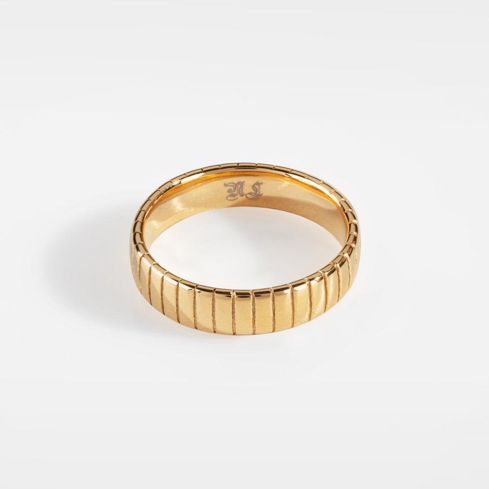 Siempre Cut band - Guldtonet ring
