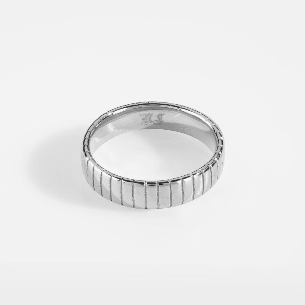 Siempre Cut band - Sølvtonet ring
