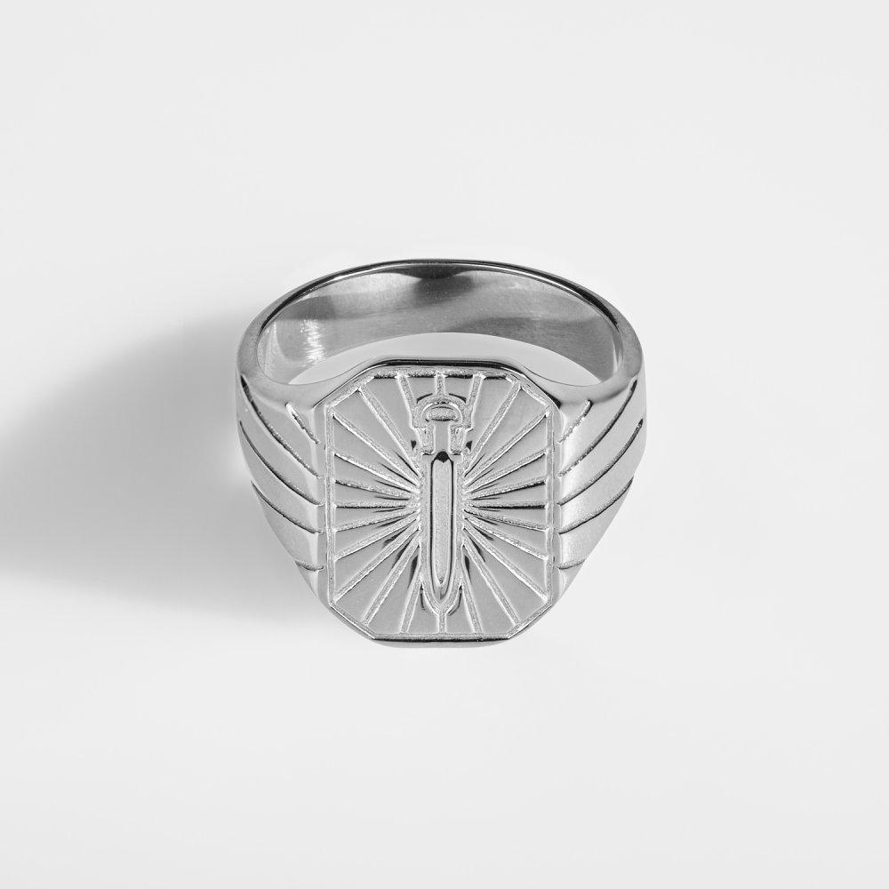 Gungnir Signature - Sølvtonet ring
