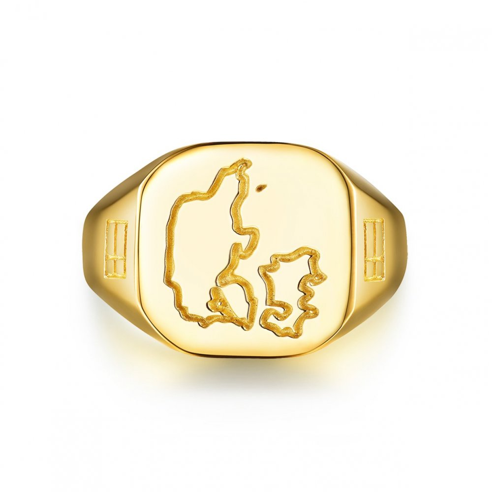Denmark Legacy Signature - Guldtonet ring