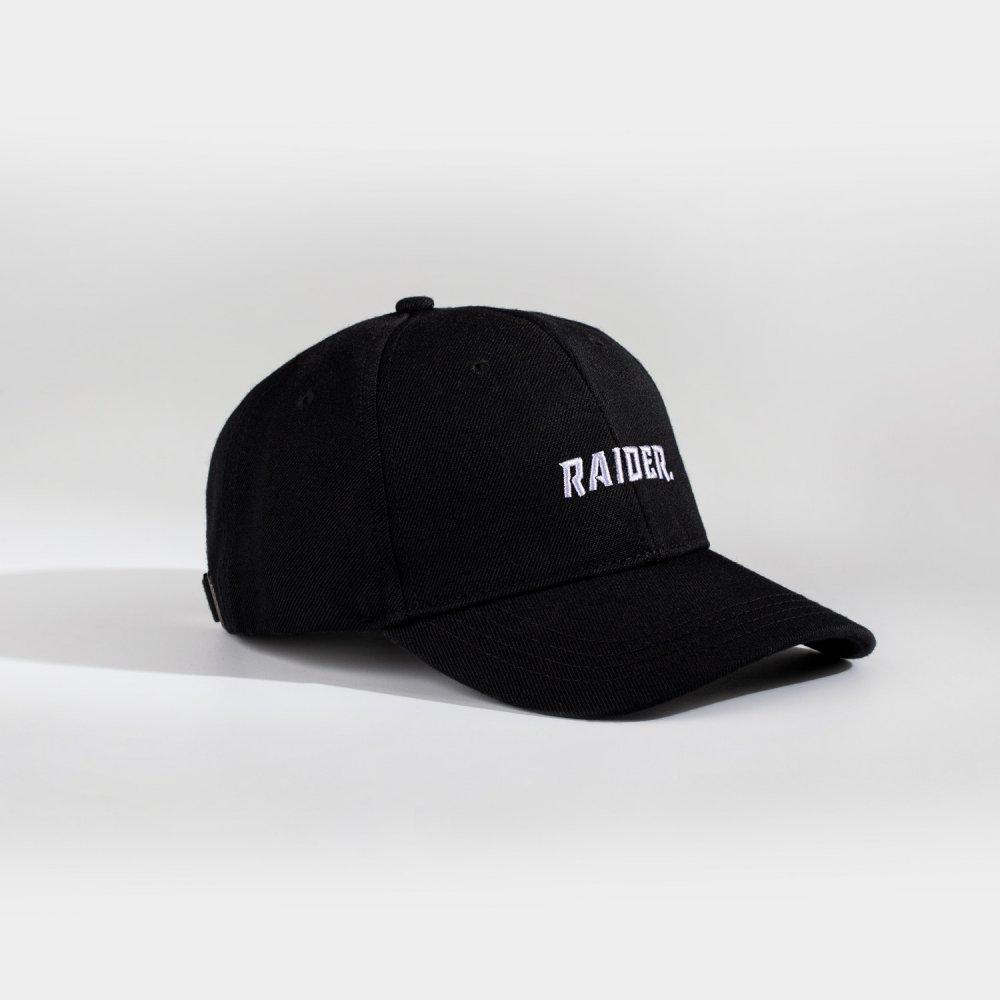 NL Raider Dad cap - Sort/hvid
