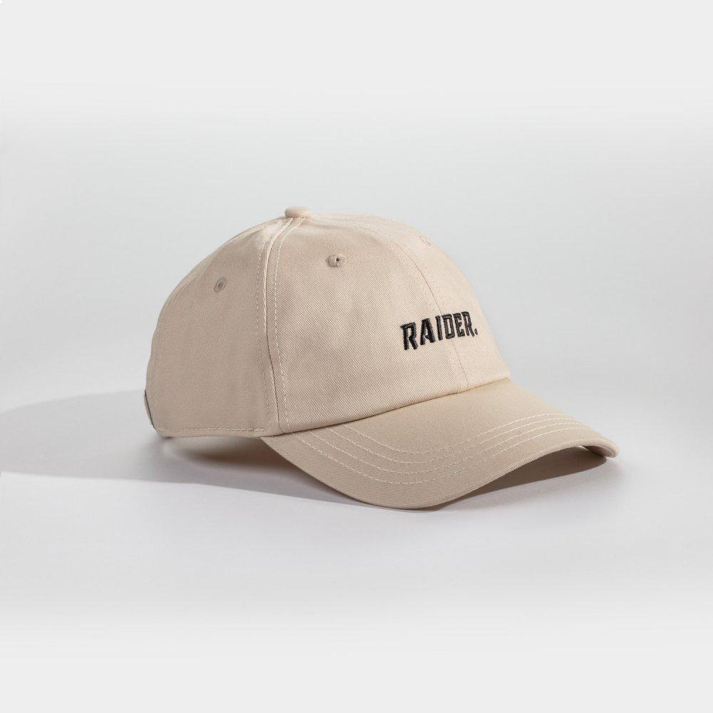 NL Raider Dad cap - Sandfarvet/sort
