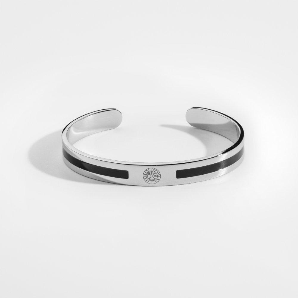 NL Enemal Armbånd - Sølvtonet