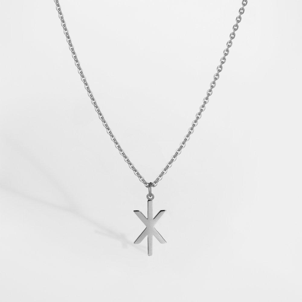 NL Uruz halskæde - Sølvtonet