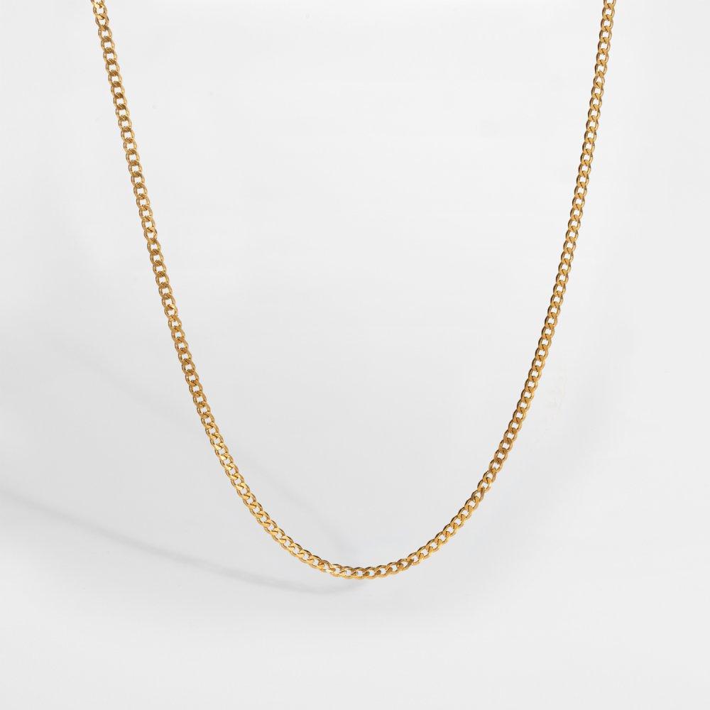NL Minimal Sequence halskæde - Guldtonet