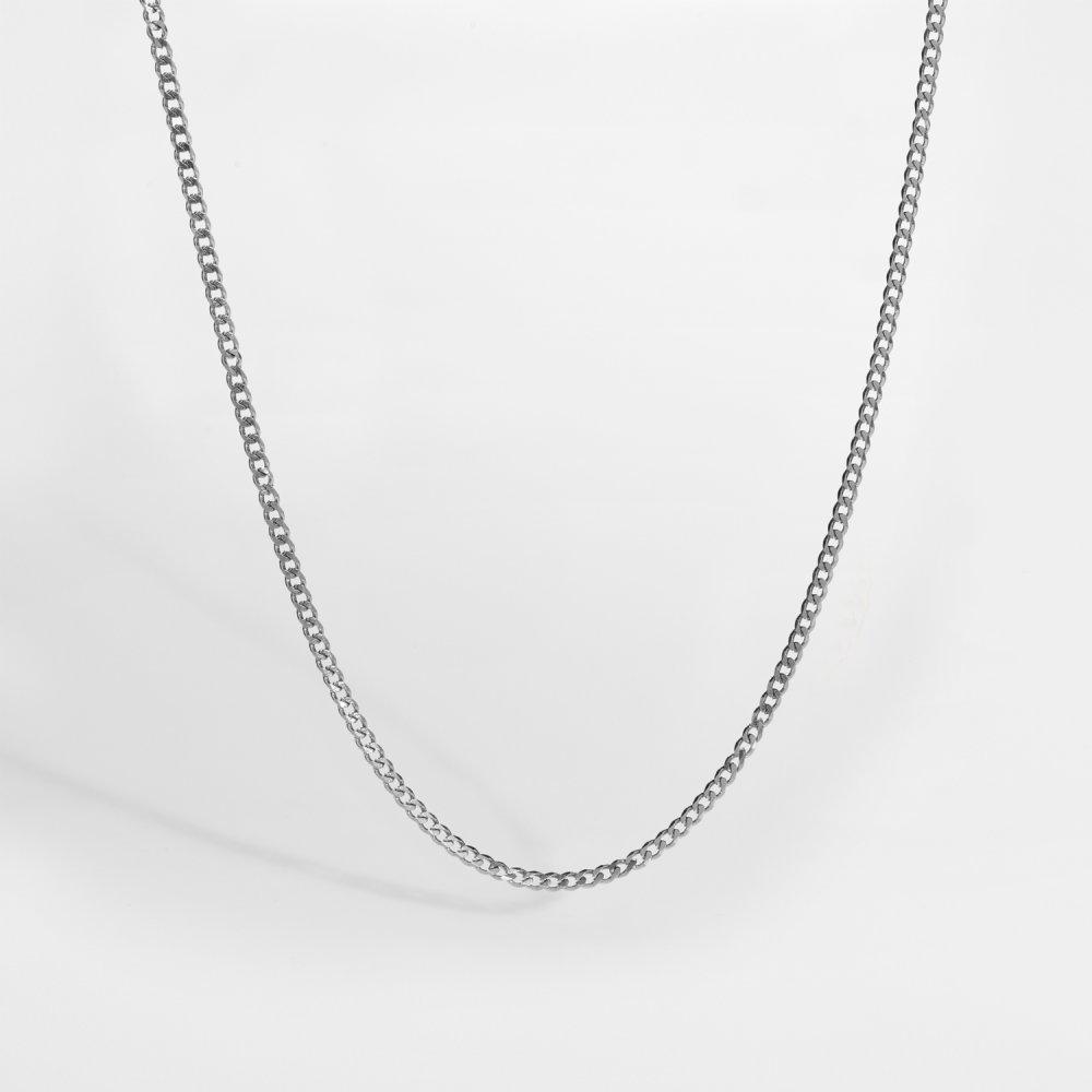 NL Minimal Sequence halskæde - Sølvtonet