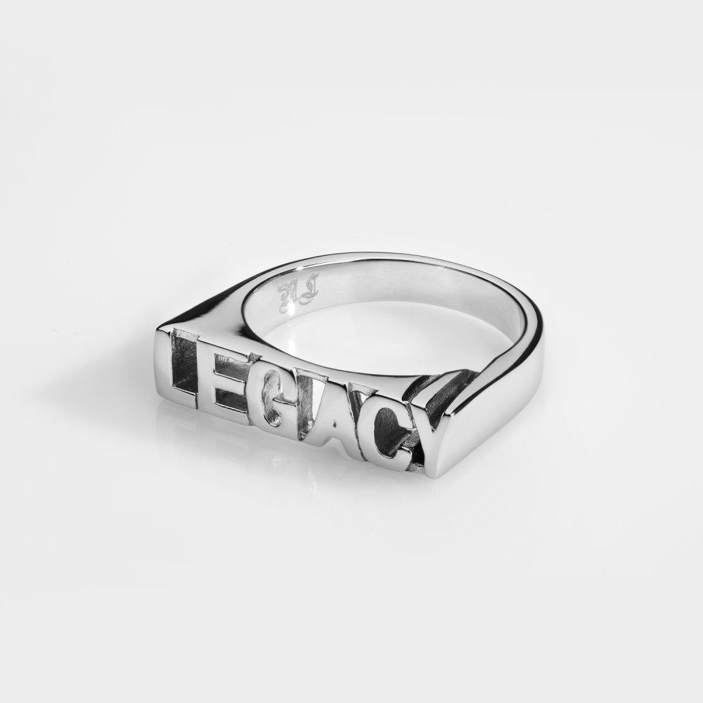 LEGACY Signature - Sølvtonet ring