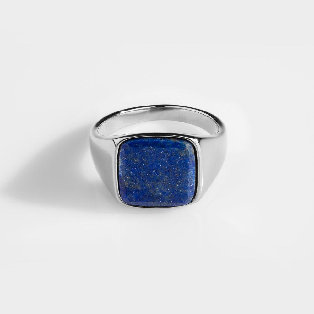 Lapis Signature - Sølvtonet ring