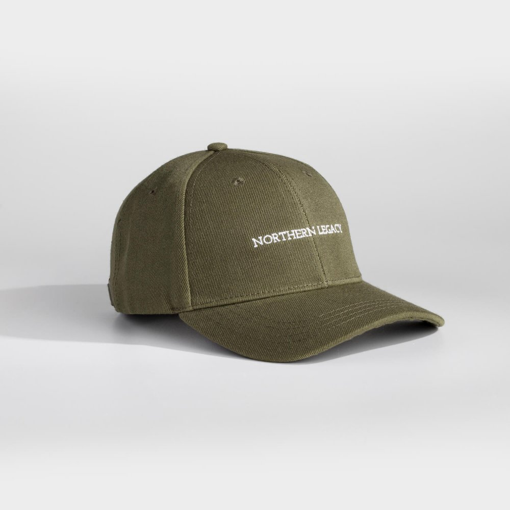 NL Signature cap - Army green