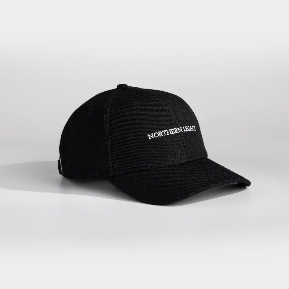 NL Signature Dad cap - Sort/hvid