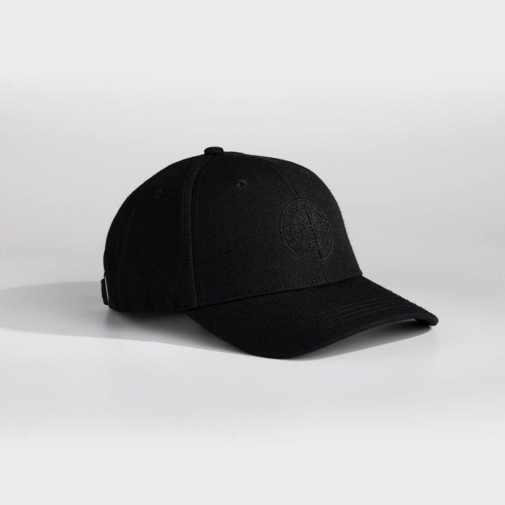 NL Vegvisir cap - Black/black