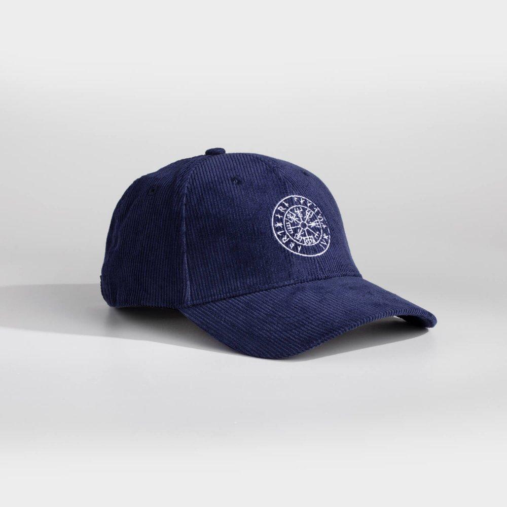 NL Vegvisir cap - Navy fløjl