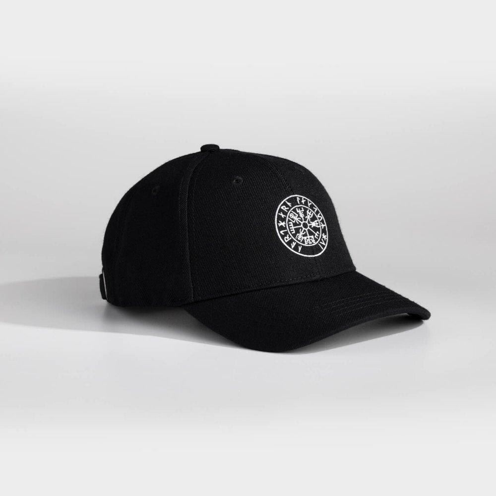 NL Vegvisir Dad cap - Sort/hvid