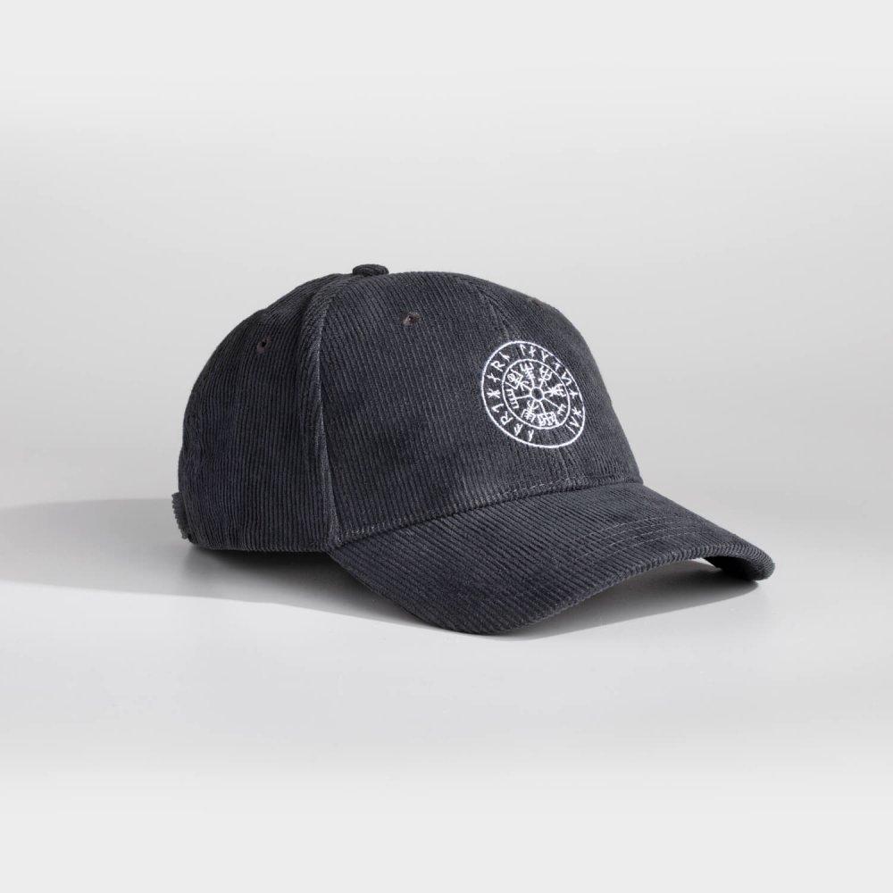 NL Vegvisir cap - Cool grey fløjl