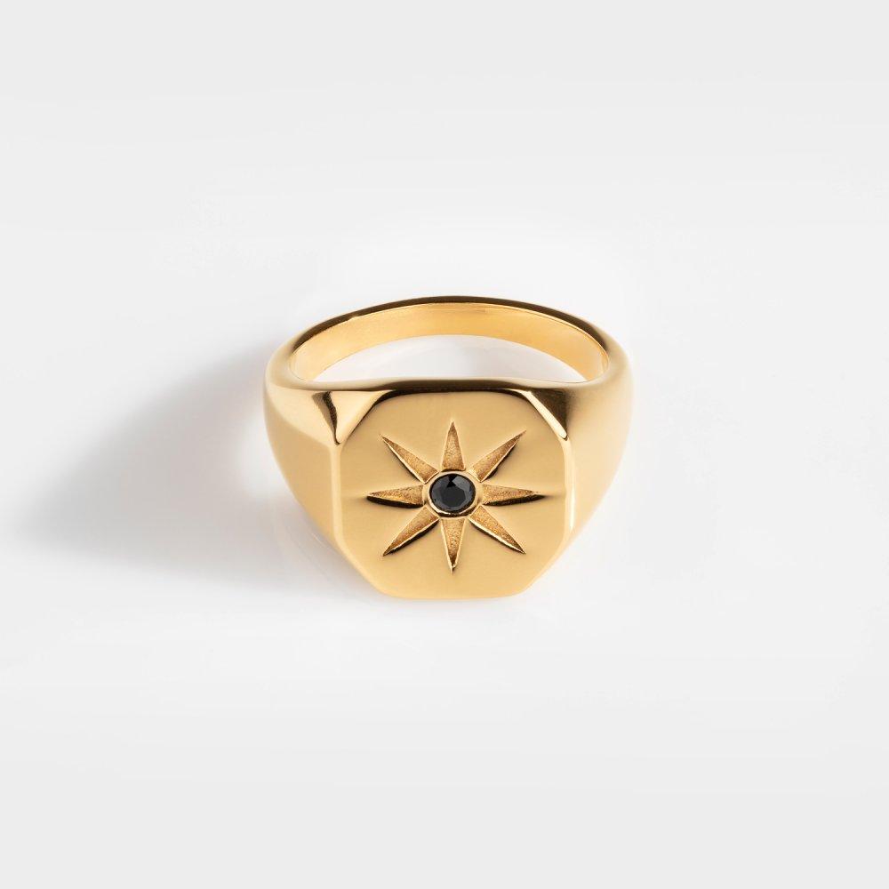 North Star Signature - Guldtonet ring