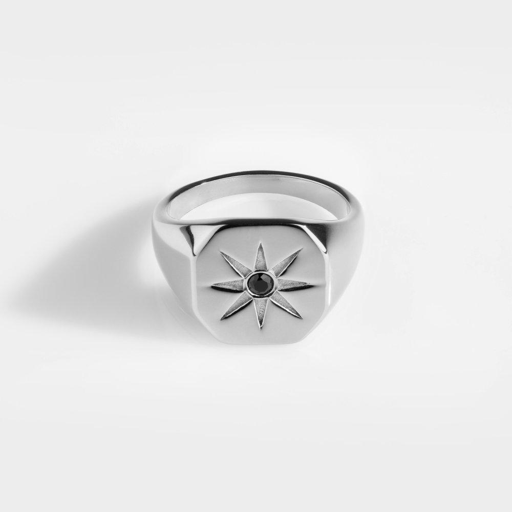 North Star Signature - Sølvtonet ring