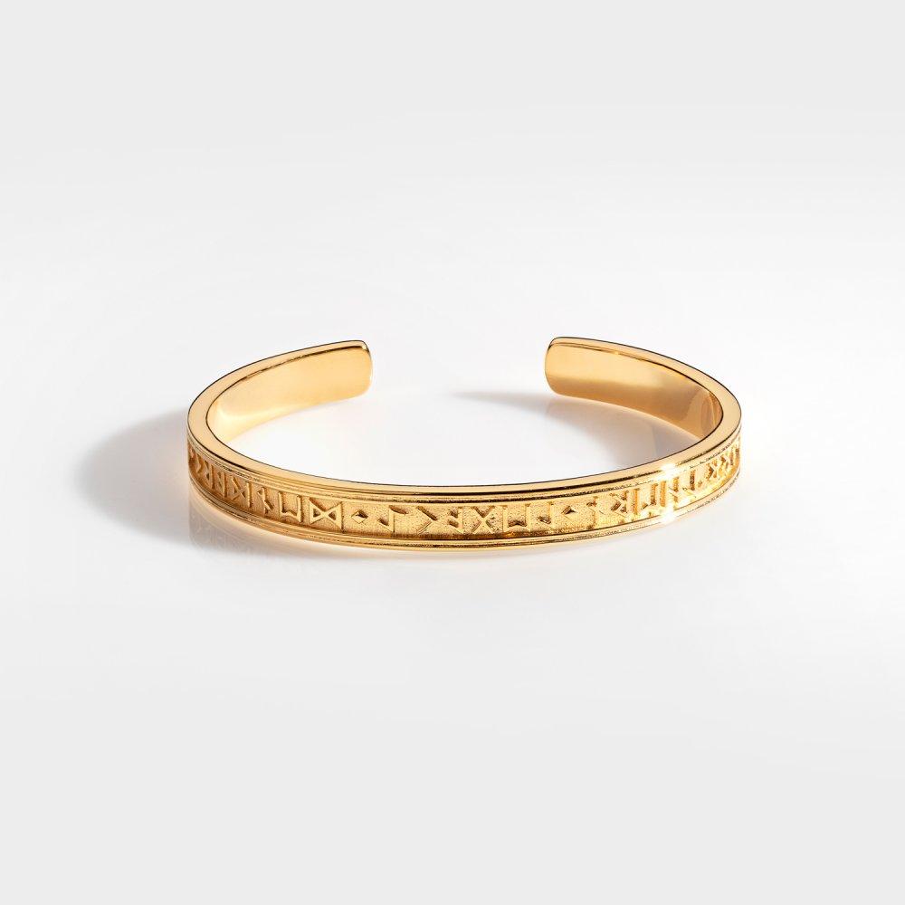 NL Runic Armbånd - Guldtonet