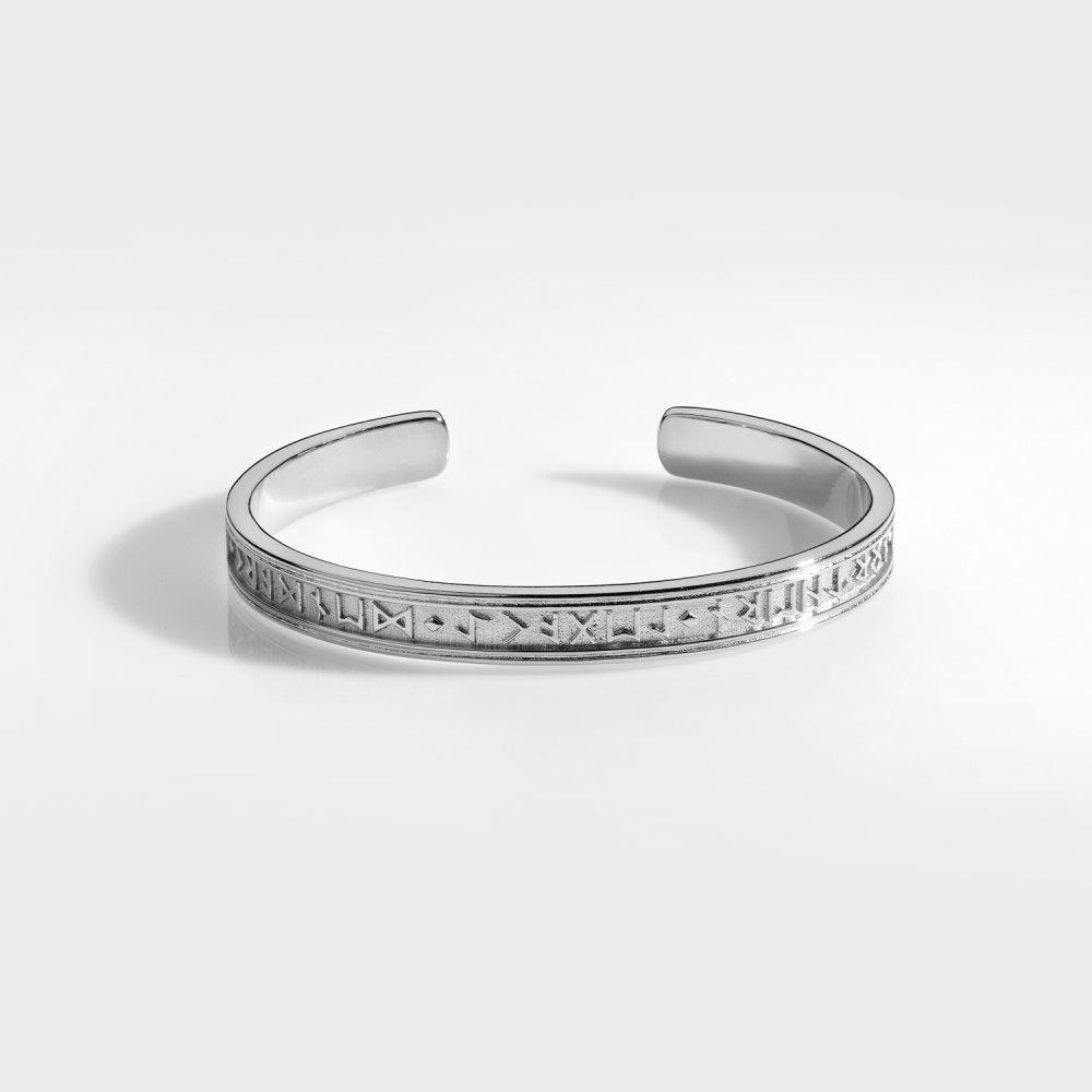 NL Runic Armbånd - Sølvtonet