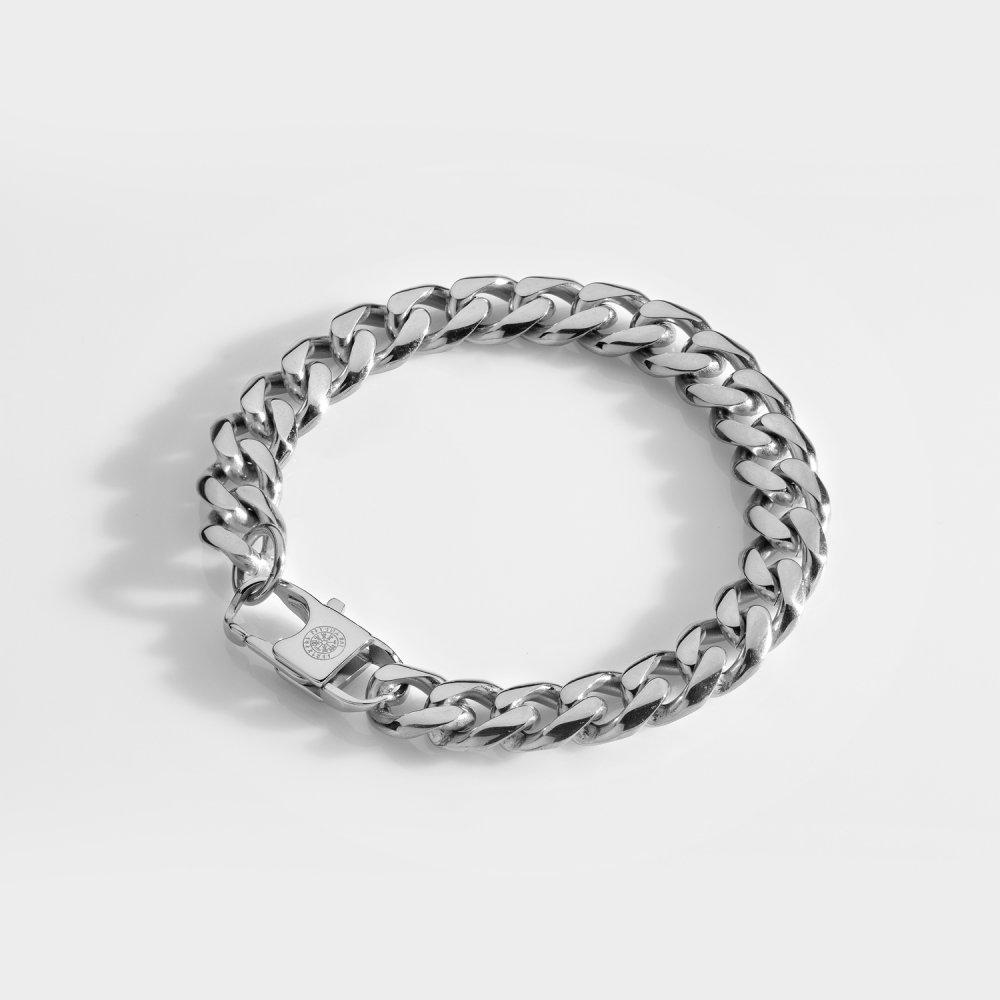 NL Sequence armbånd - Sølvtonet